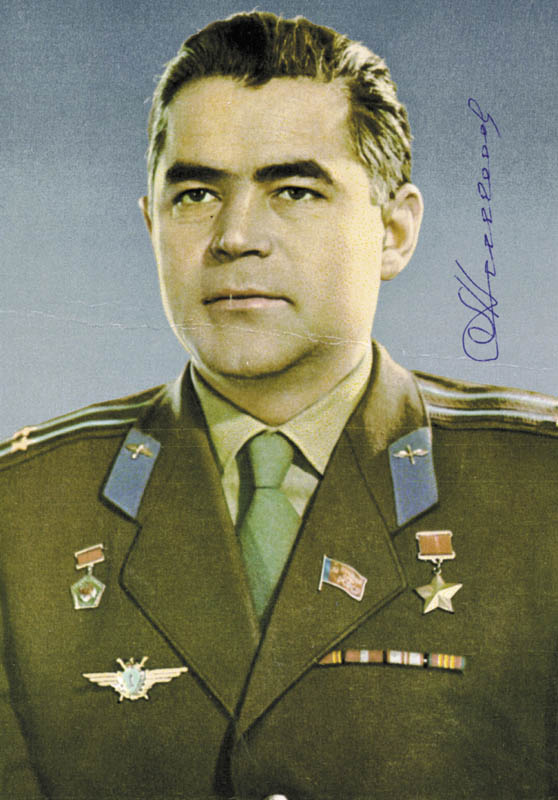 Image 1 for Major General Andrian Nikolayev - Autographed Signed Photograph - HFSID 83096