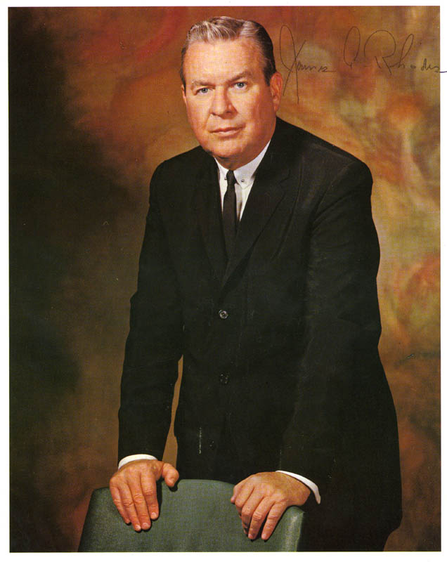 Image 1 for James A. Rhodes - Autographed Signed Photograph - HFSID 83762
