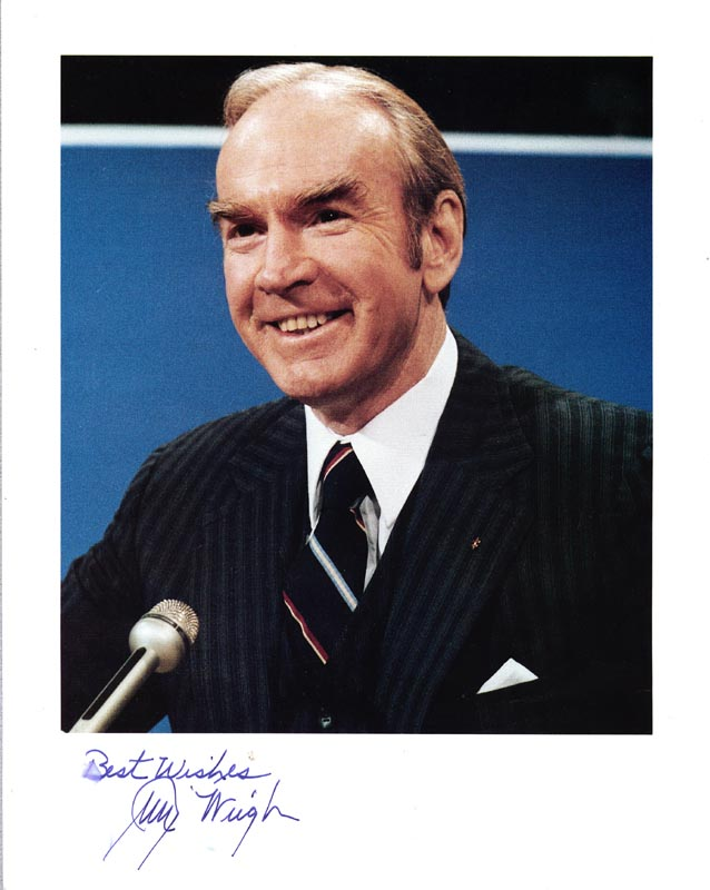 Image 1 for James C. Wright Jr. - Autographed Signed Photograph - HFSID 83822