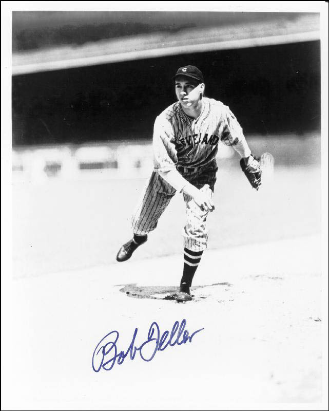 Image 1 for Bob Feller - Autographed Signed Photograph - HFSID 84112
