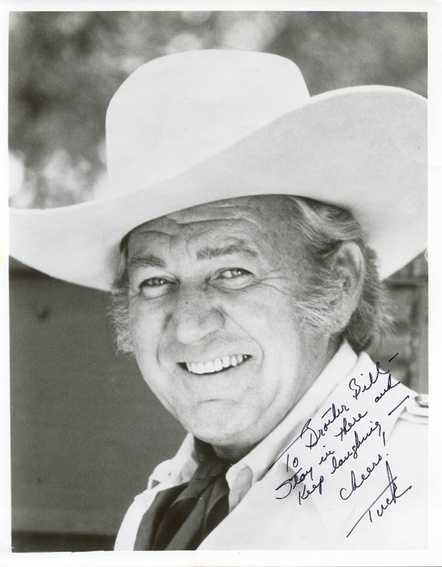 Image 1 for Forrest Tucker - Autographed Inscribed Photograph - HFSID 84685