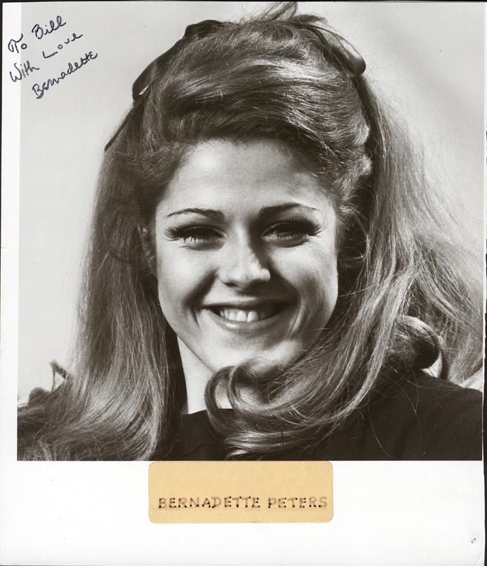 Image 1 for Bernadette Peters - Autographed Inscribed Photograph - HFSID 84688