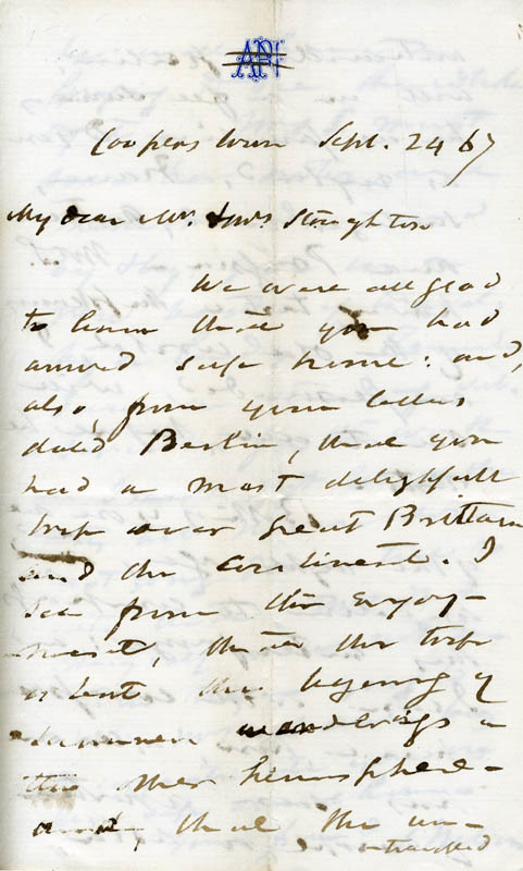 Image 3 for Associate Justice Samuel Nelson - Autograph Letter Signed 09/24/1867 - HFSID 84784