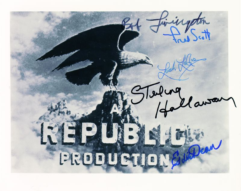 Image 1 for Republic Pictures - Autographed Signed Photograph with co-signers - HFSID 85127