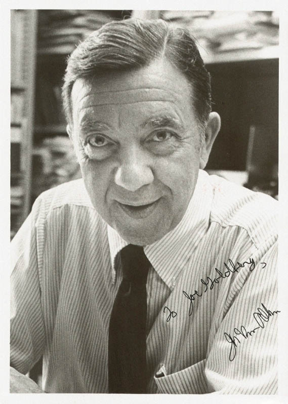 Image 1 for James A. Van Allen - Autographed Inscribed Photograph - HFSID 85454