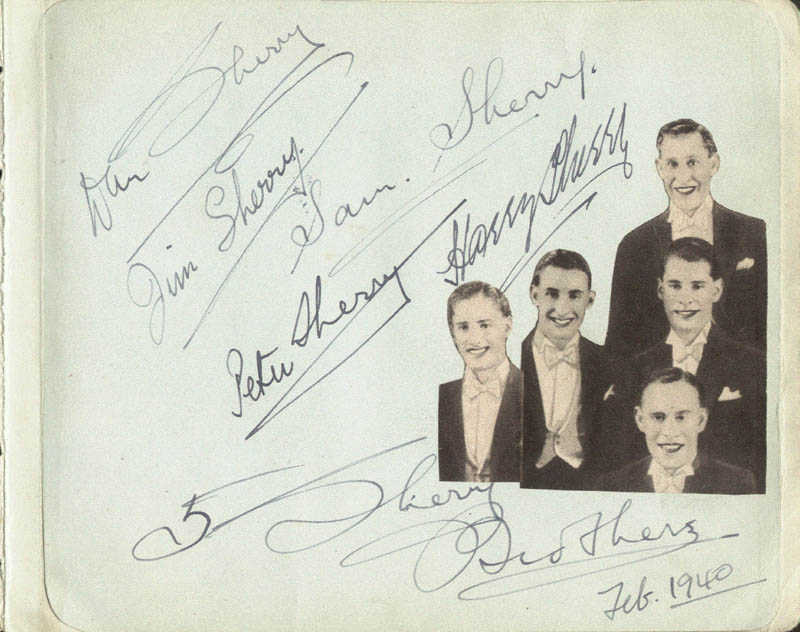 Image 3 for Boy Foy - Autograph Sentiment Signed 02/1940 with co-signers - HFSID 85538