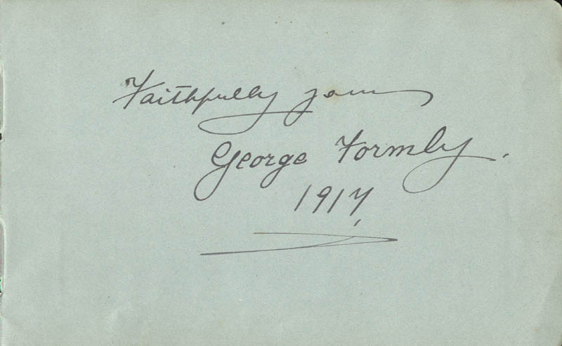 Image 3 for John Cheetham - Autograph Lyrics Signed 1917 co-signed by: George Formby Sr. - HFSID 85575