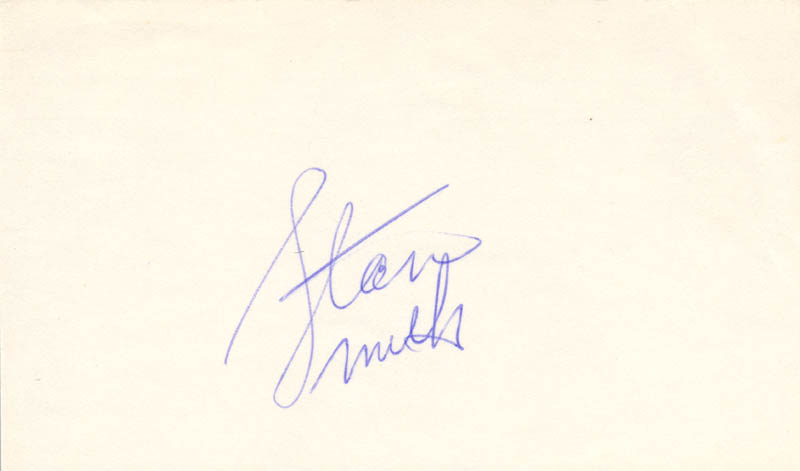 Image 1 for Stan (Stanley Roger) Smith - Autograph - HFSID 85615