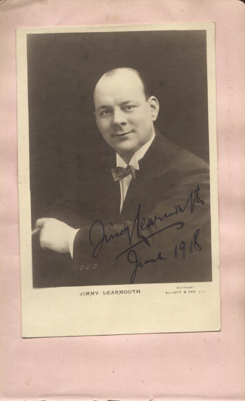 Image 1 for Jimmy Learmouth - Autographed Signed Photograph 6/1918 - HFSID 85759