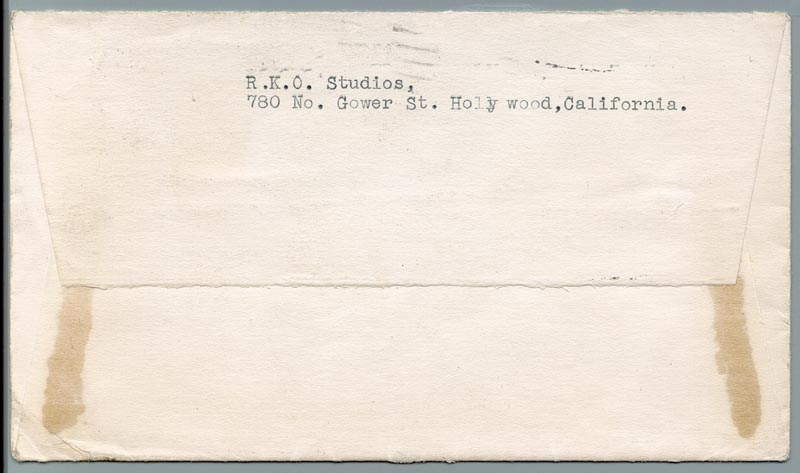 Image 4 for Sir Cedric Hardwicke - Typed Letter Signed 12/16/1940 - HFSID 86054
