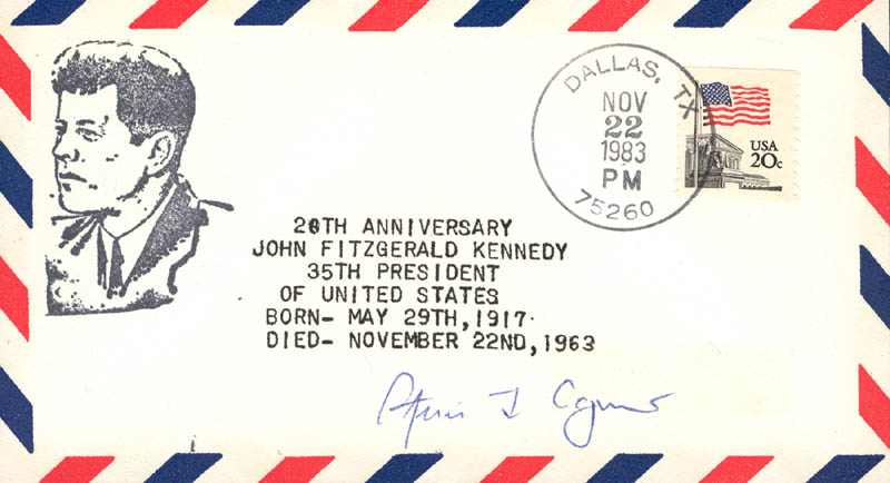 Image 1 for Vice President Spiro T. Agnew - Commemorative Envelope Signed - HFSID 86828