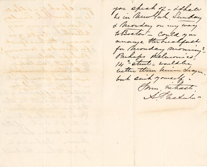 Image 1 for Major General Alfred Pleasonton - Autograph Letter Signed 05/02/1871 - HFSID 86946