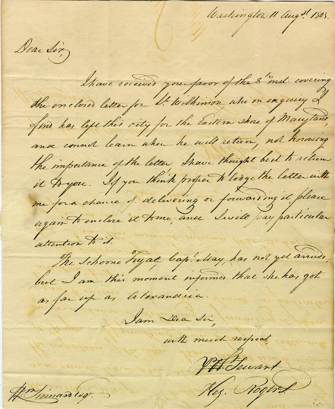 Image 1 for Associate Justice Gabriel Duvall - Free Frank Signed Circa 1803 - HFSID 86962