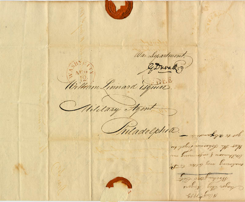 Image 3 for Associate Justice Gabriel Duvall - Free Frank Signed Circa 1803 - HFSID 86962