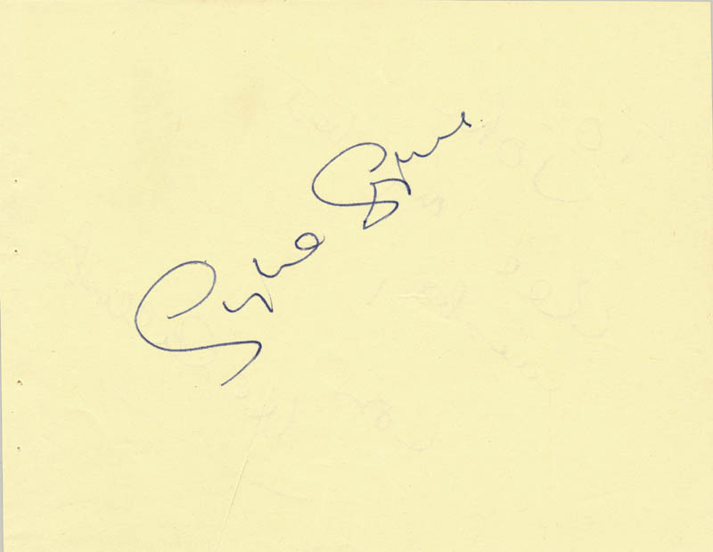 Image 3 for Lon Mccallister - Autograph Note Signed co-signed by: Sylvia Syms - HFSID 87169