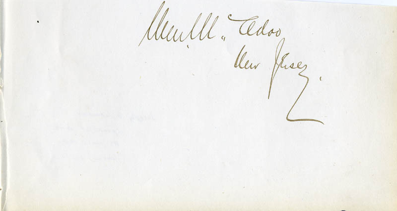 Image 1 for William Mcadoo - Autograph - HFSID 87195