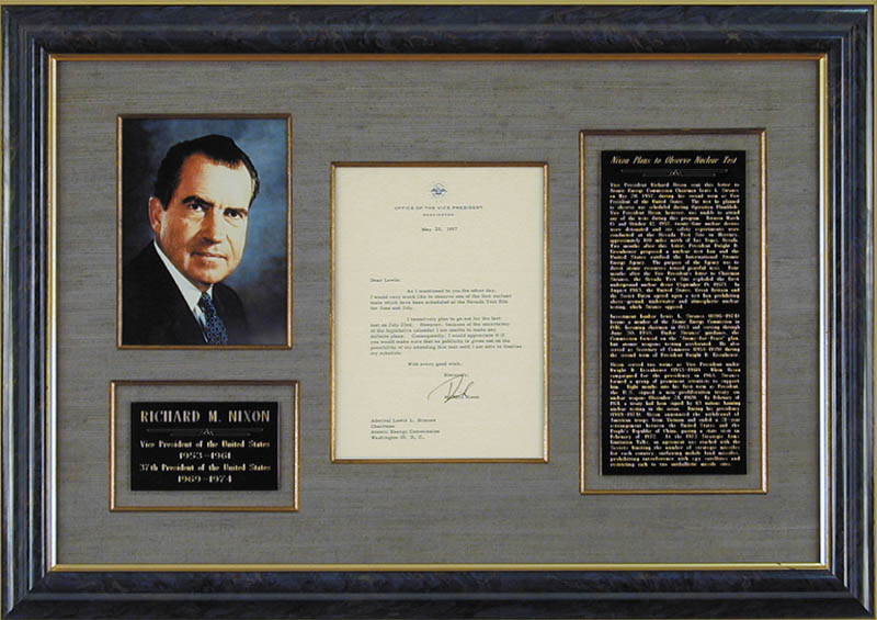 Image 1 for President Richard M. Nixon - Typed Letter Signed 05/20/1957 - HFSID 87611
