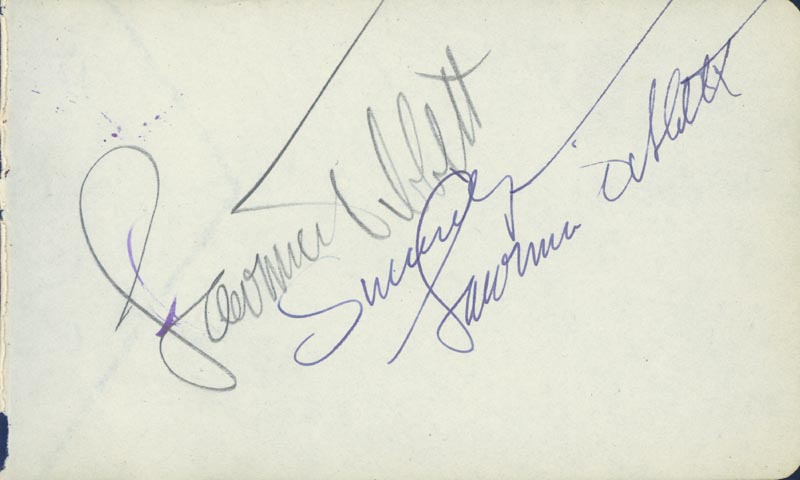 Image 1 for Lawrence Tibbett - Autograph - HFSID 87707