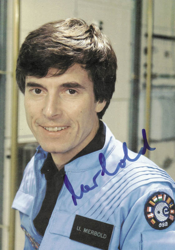 Image 1 for Ulf Merbold - Autographed Signed Photograph - HFSID 88145