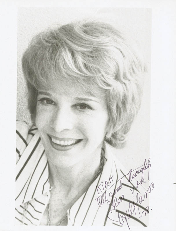 Image 1 for Signe Hasso - Autographed Inscribed Photograph 1978 - HFSID 88295