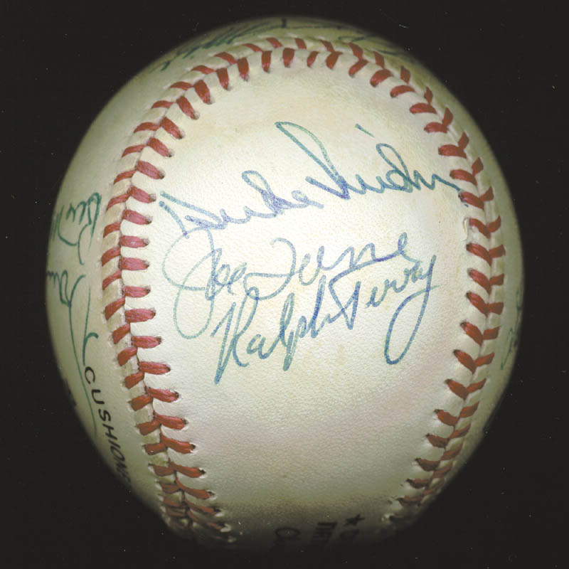 Image 3 for Hank Aaron - Autographed Signed Baseball with co-signers - HFSID 88318