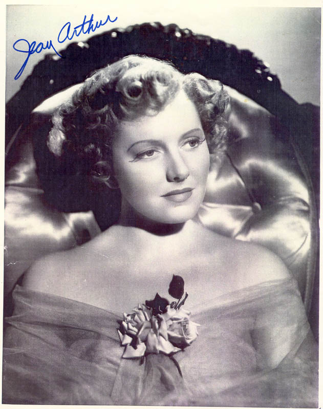 Image 1 for Jean Arthur - Autographed Signed Photograph - HFSID 88479