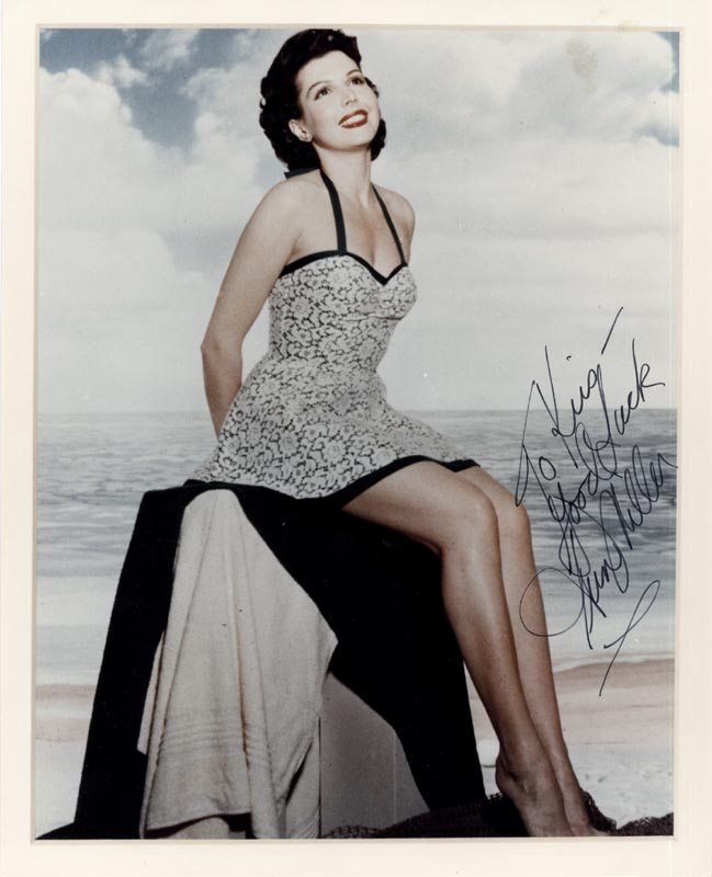 Image 1 for Ann Miller - Autographed Inscribed Photograph - HFSID 88628