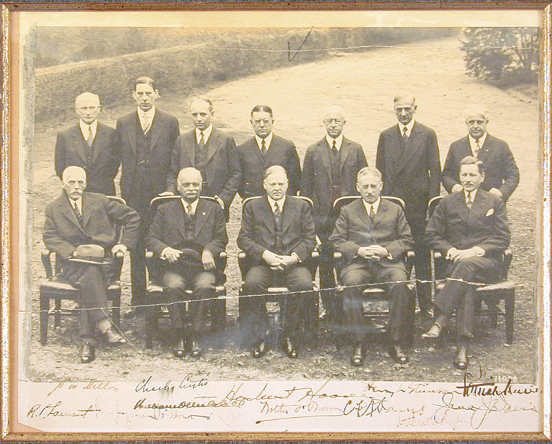 Image 3 for President Herbert Hoover - Autographed Signed Photograph Circa 1930 with co-signers - HFSID 88742