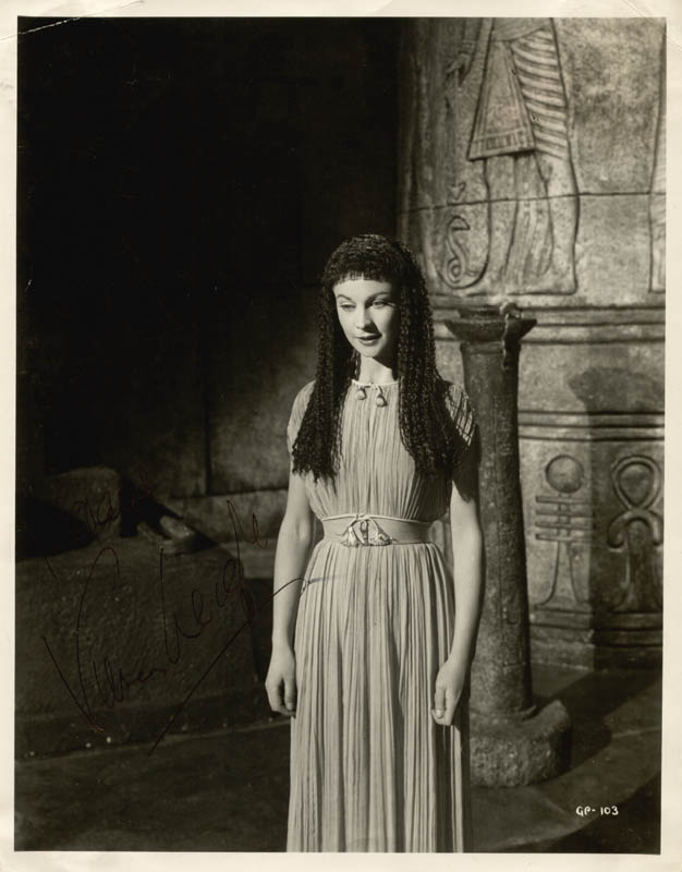 Image 1 for Vivien Leigh - Autographed Inscribed Photograph - HFSID 88777