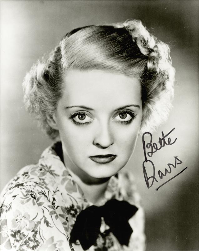 Image 1 for Bette Davis - Autographed Signed Photograph - HFSID 88798