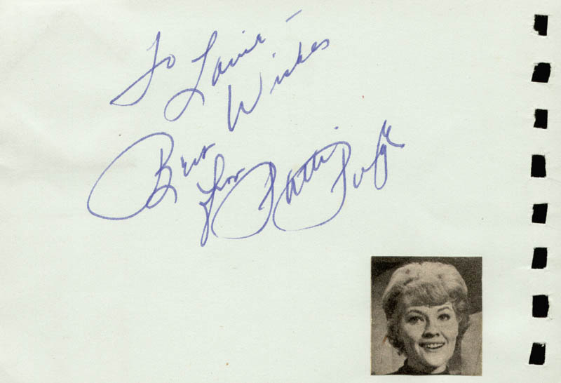 Image 3 for Eddie Albert - Autograph Note Signed co-signed by: Patti Page - HFSID 88813