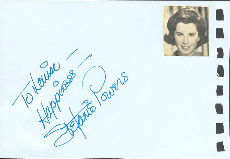 Image 1 for Stefanie Powers - Autograph Note Signed co-signed by: Ursula Andress - HFSID 88817