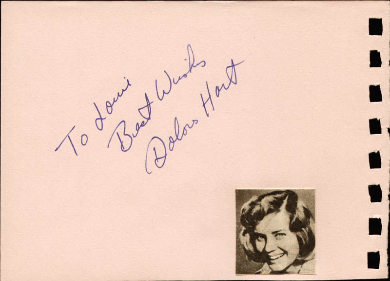 Image 3 for Edie Adams - Autograph Note Signed co-signed by: Dolores (Rev. Mother Dolores Hart) Hart - HFSID 88818