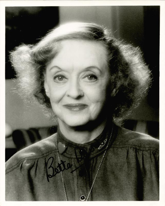 Image 1 for Bette Davis - Autographed Signed Photograph - HFSID 88969