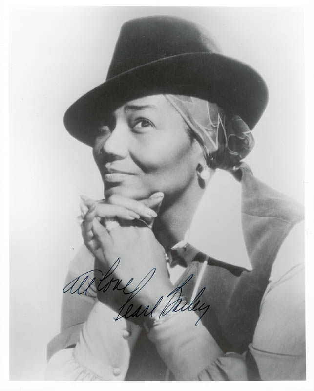 Image 1 for Pearl Bailey - Autographed Signed Photograph - HFSID 89015