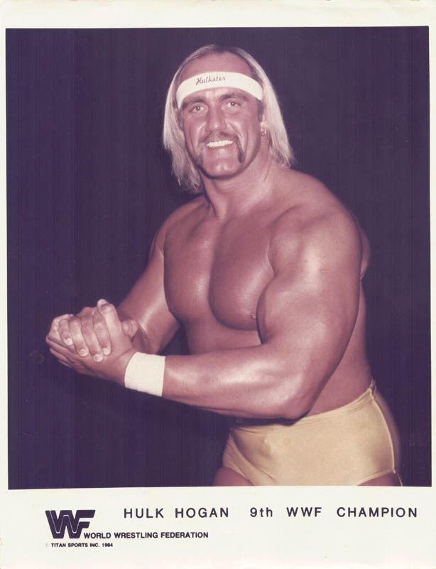 Image 3 for Hulk Hogan - Autographed Signed Photograph 1985 - HFSID 89188