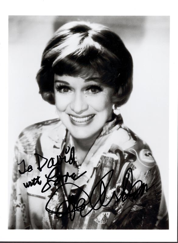 Image 1 for Eve Arden - Autographed Inscribed Photograph - HFSID 89304