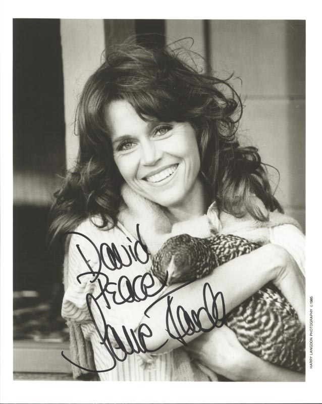 Image 1 for Jane Fonda - Autographed Inscribed Photograph - HFSID 89338