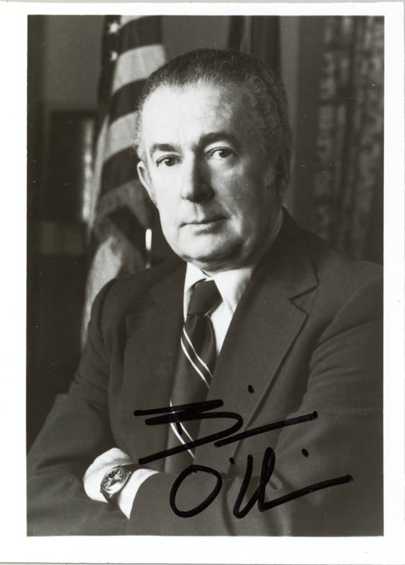 Image 1 for William A. 'Bill' O'Neill - Autographed Signed Photograph - HFSID 89365