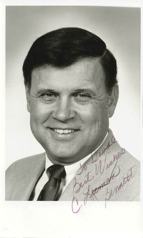 Image 1 for Leeman Bennett - Autographed Inscribed Photograph - HFSID 89510
