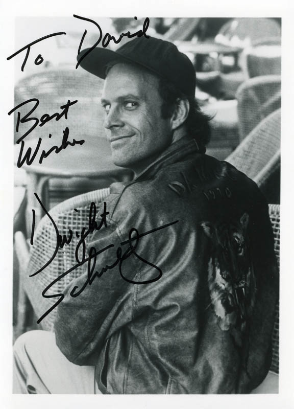 Image 1 for Dwight Schultz - Autographed Inscribed Photograph - HFSID 89664