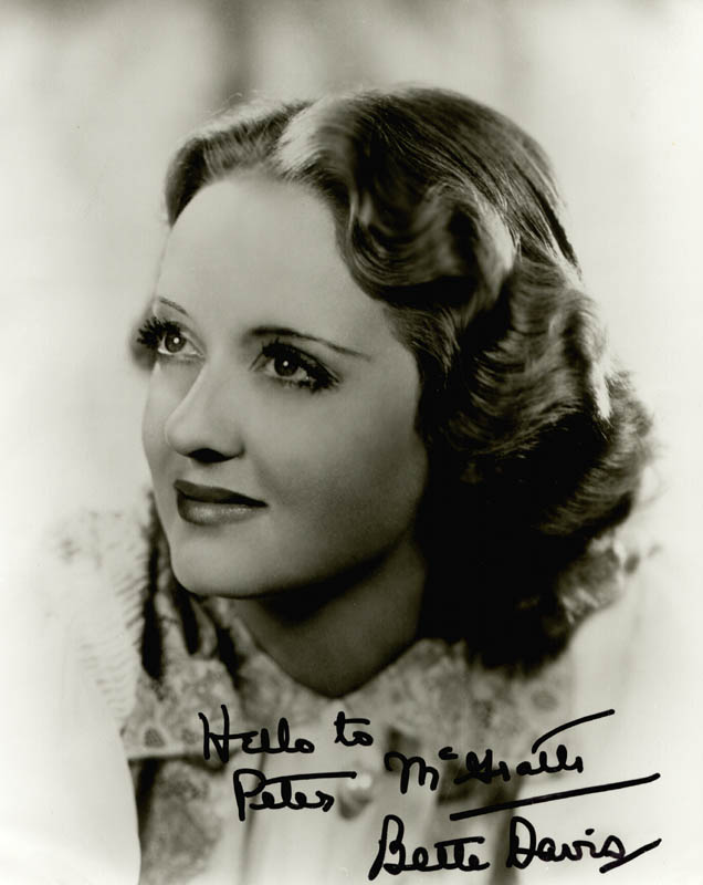 Image 1 for Bette Davis - Autographed Signed Photograph - HFSID 89741