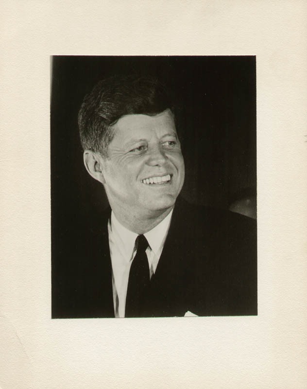 Image 1 for President John F. Kennedy - Photograph Unsigned Circa 1963 - HFSID 9000167