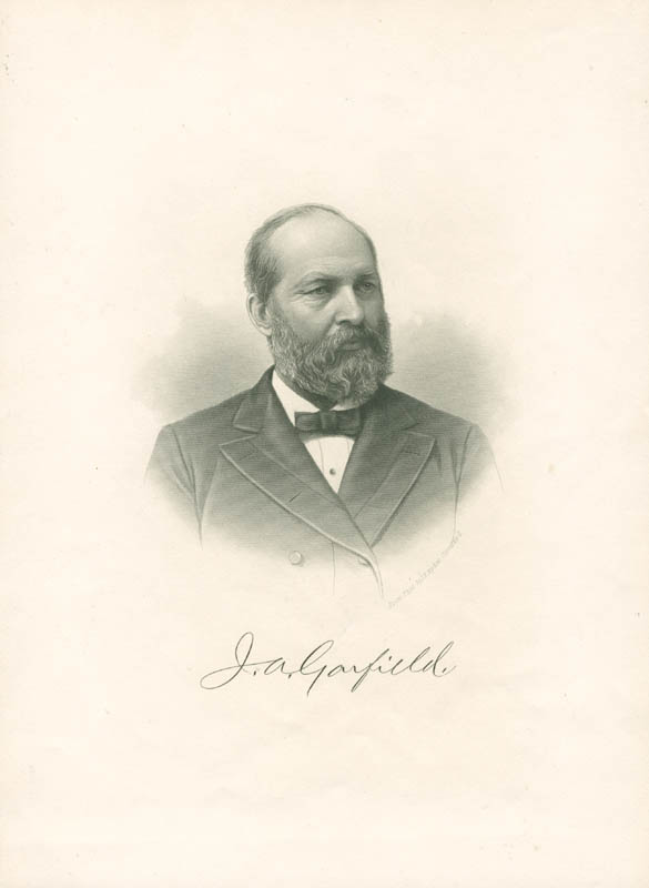 Image 1 for President James A. Garfield - Photograph Unsigned - HFSID 9000516