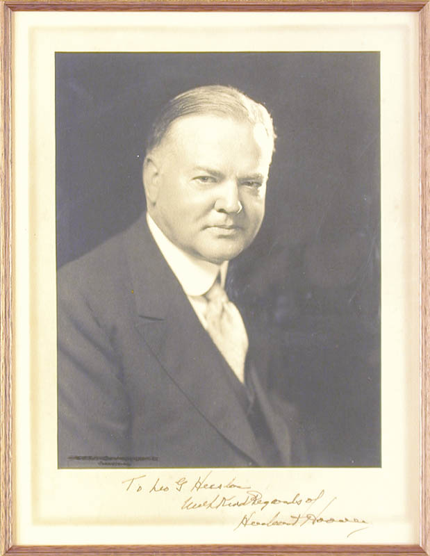 Image 4 for President Herbert Hoover - Collection with First Lady Lou Henry Hoover - HFSID 90057