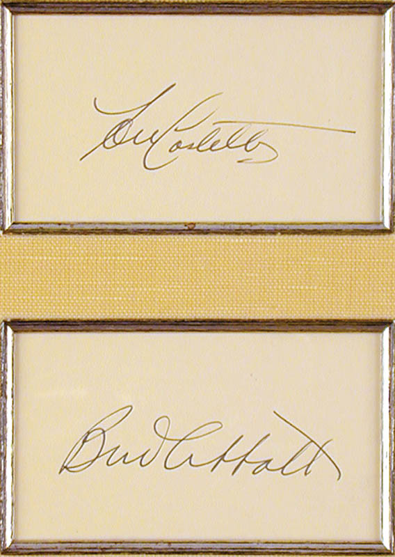 Image 3 for Abbott & Costello (Bud Abbott) - Collection with Abbott & Costello (Lou Costello) - HFSID 90360