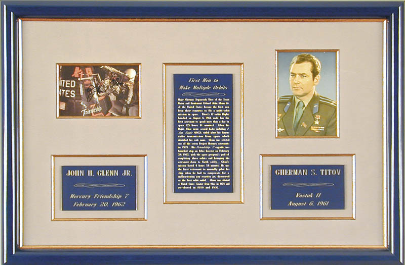 Image 1 for John Glenn - Collection with General Gherman Titov - HFSID 90510