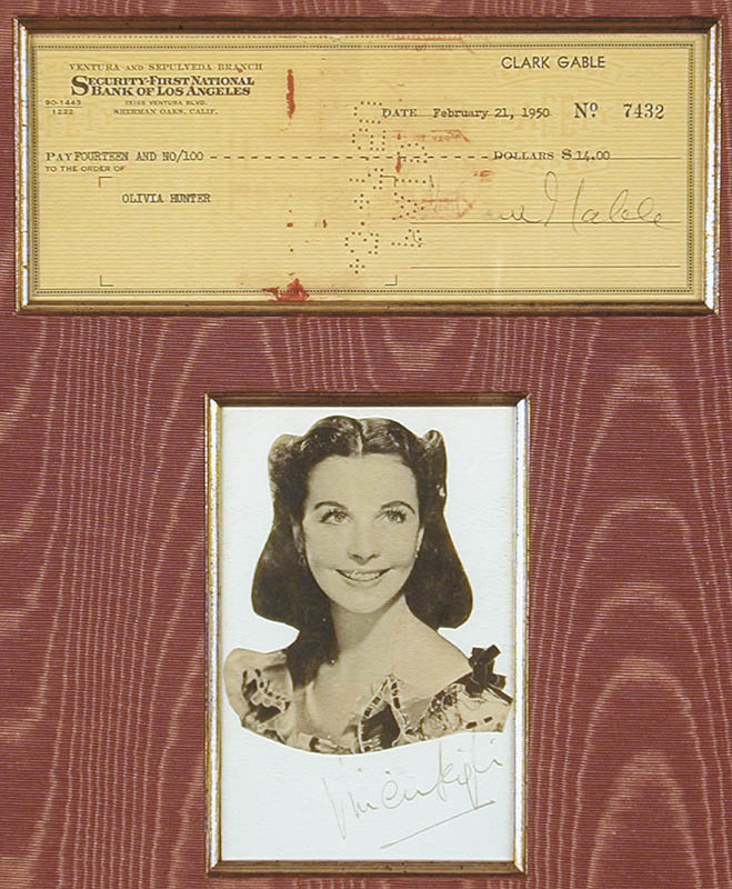 Image 3 for Gone With The Wind Movie Cast - Collection with Clark Gable, Vivien Leigh - HFSID 91142