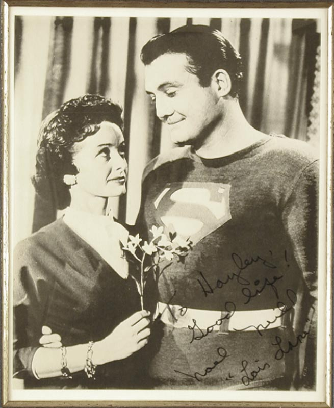 Image 6 for George 'Superman' Reeves - Collection with Phyllis Coates, Robert Shayne, Noel Neill - HFSID 91192