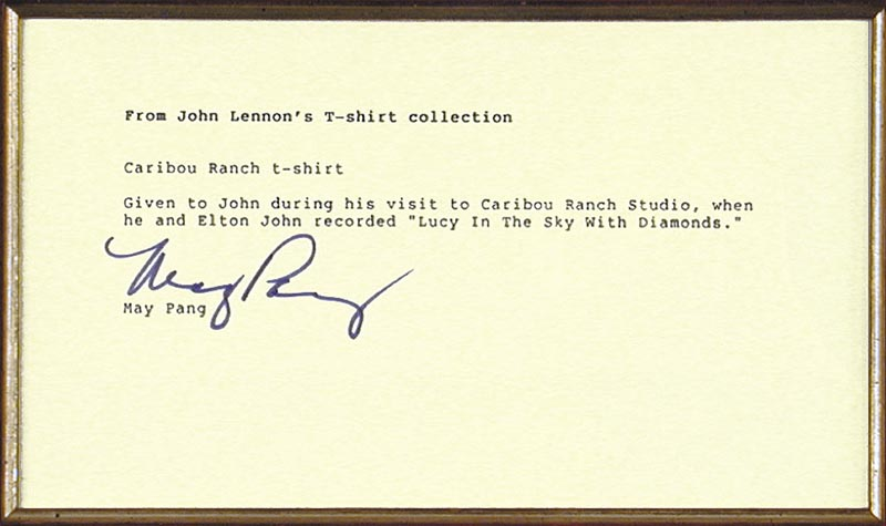 Image 3 for The Beatles (John Lennon) - Collection with May Pang - HFSID 91358
